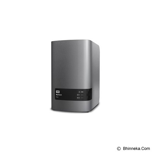 WD My Book Duo 6TB [WDBLWE0060JCH-SESN] - Hard Disk External 3.5 Inch